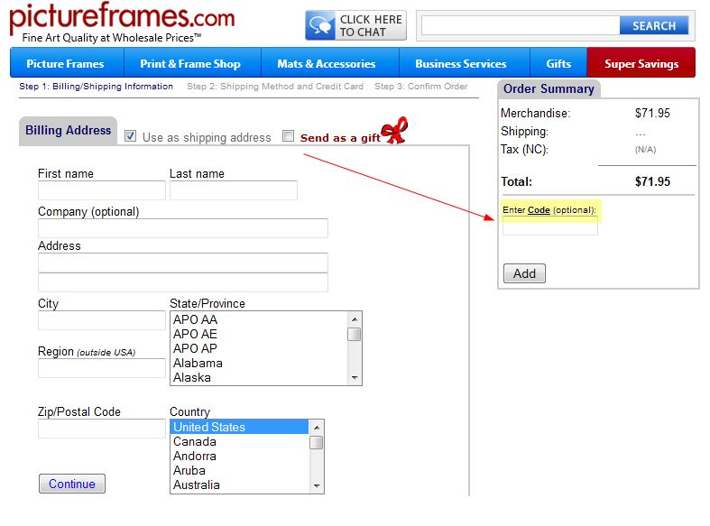 Coupon Instructions: How & Where to Enter Promo Codes for Specific ...